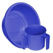 Round Wash Cup and Wash Basin Set