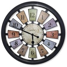 "18"" Round Panel Wall Clock"