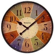 "12"" Kaleidoscope Wall Clock"
