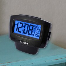 LCD Easy To Read Alarm Clock
