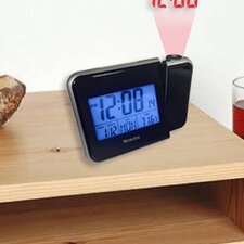 LCD Projection Alarm Clock