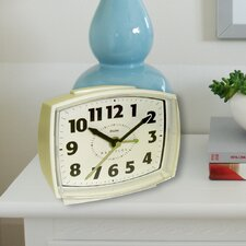 Quartz Electric Cream Alarm Clock