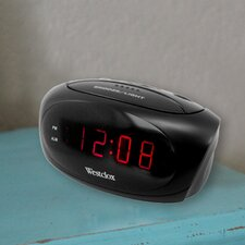 Electric LED Alarm Clock