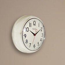 """9.5"""" Retro Wall Clock"""