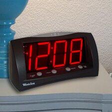 """1.8"""" Oversized Snooze LED Alarm Clock"""