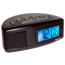 Super Loud LCD Alarm Clock