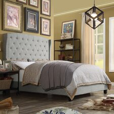 Romana Upholstered Panel Bed