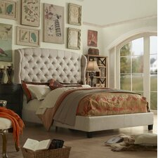 Felisa Queen Upholstered Panel Bed