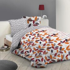 Bettwäsche-Set Petits Papiers aus 100% Baumwolle