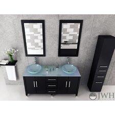 "Sirius 59"" Double Bathroom Vanity Set"