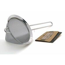 """Culina 5"""" Conical Stainless Steel Mesh Strainer"""