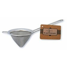 """Culina 3"""" Conical Stainless Steel Mesh Strainer"""