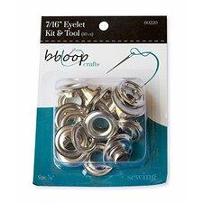 BBloop 21 Piece Eyelet Kit with Tool