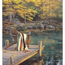 'Reflecting on Golden Pond' by Darrell Bush Painting Print