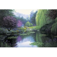 'Spring Reflections' by Charles White Painting Print
