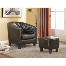 Isabella Arm Chair and Ottoman