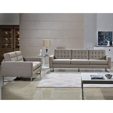 Angela Sofa and Loveseat Set