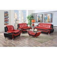 Wanda 3 Piece Living Room Set