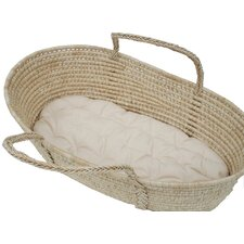 "30""L Cotton Moses Basket 1.5"" Bassinet Mattress"