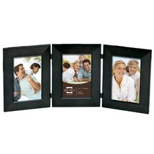 Three Opening Dakota Trio Solid Wood Picture Frame