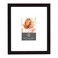 Wide Matted Gallery Expressions Styrene Picture Frame