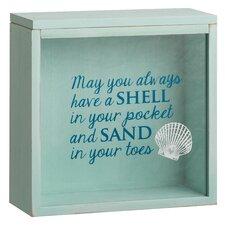 Beach Comber Shell Collector Decorative Box