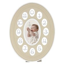 Thirteen Opening Oval Baby Resin Picture Frame