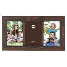 3 Opening Monterey Wood Picture Frame