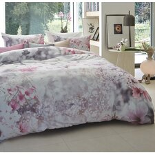 Bettbezug Blooming Blossoms aus Mako-Satin (100% Baumwolle)