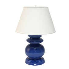 "Cottage 28"" H Table Lamp with Empire Shade"