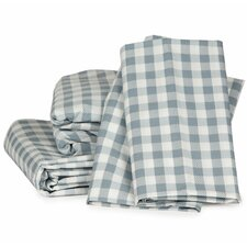 Gingham Plaid Sheet Set