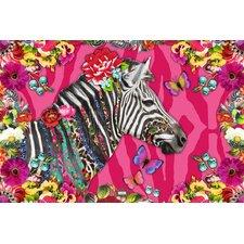 Wandbild Melli Mello zebra Grafikdruck