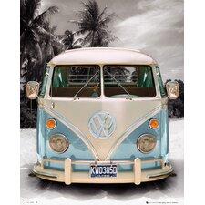 Deco Panel 'Volkswagen Bulli T1', Fotodruck