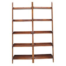 """75.5"""" Leaning Bookcase"""