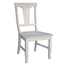 Panel Back Side Chair (Set of 2)