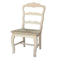 Versailles Side Chair with Rush Seat (Set of 2)