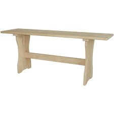 Trestle Wood Kitchen Bench