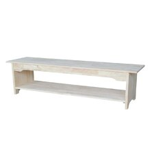 Brookstone Wood Kitchen Bench