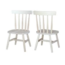 Juvenile Tot's Kids Desk Chair (Set of 2)