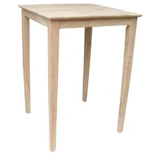 Shaker Bar Height Pub Table