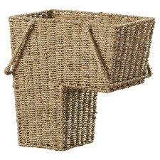 Bertram Wicker Sea Grass Stair Basket