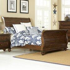 Mertie Sleigh 5 Piece Bedroom Set