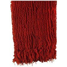 Melisande Ruffled Throw Blanket