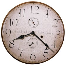 "Moment In Time Original Howard Miller III 18"" Wall Clock"