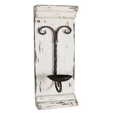 Metal Wall Sconce Candle Holder