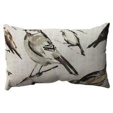 Eldora Cotton Lumbar Throw Pillow