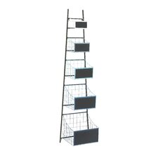 Superior Multi-Purpose 5 Shelf Basket Stand