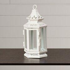 Cornelia Iron and Glass Lantern