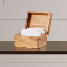 Clifford Recipe Box