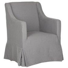 Skirted Slipcover Arm Chair